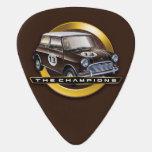 Mini Cooper S brown Guitar Pick