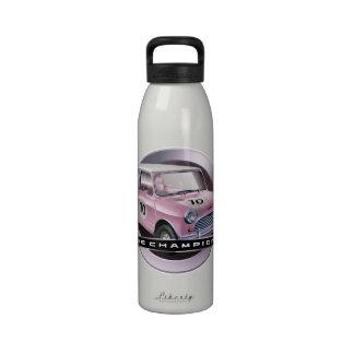 Mini Cooper S pink Drinking Bottles