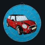 "Mini Cooper sports car Dart Board<br><div class=""desc"">dart</div>"