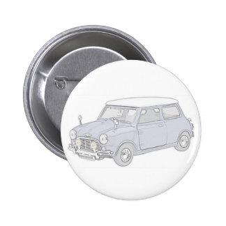 Mini Cooper Vintage-colored Pin