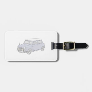 Mini Cooper Vintage-colored Luggage Tags