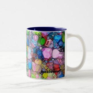 Mini Cubes Two-Tone Coffee Mug