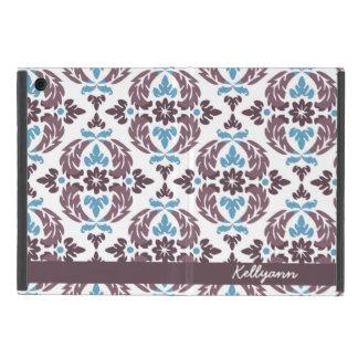 Mini cubierta de color topo y azul personalizada d iPad mini coberturas