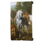 Mini cubierta del iPad hermoso del caballo blanco iPad Mini Cobertura