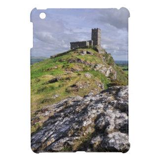 mini cubierta del iPad - iglesia de Brentor, Devon iPad Mini Funda