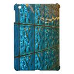 Mini cubierta en folio del iPad abstracto azul iPad Mini Carcasa