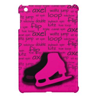 Mini cubierta las rosas fuertes del iPad del patin