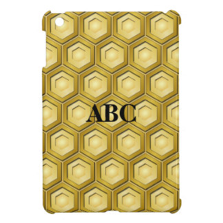 Mini cubierta tejada oro del iPad del maleficio iPad Mini Cárcasa
