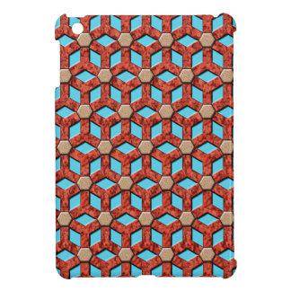 Mini cubierta tejada roca roja del iPad del malefi iPad Mini Cárcasas