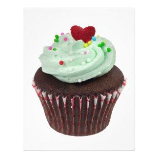 Mini cupcake flyers