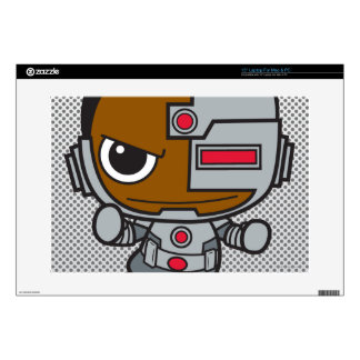 Mini Cyborg Decals For Laptops