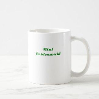 Mini dama de honor taza clásica