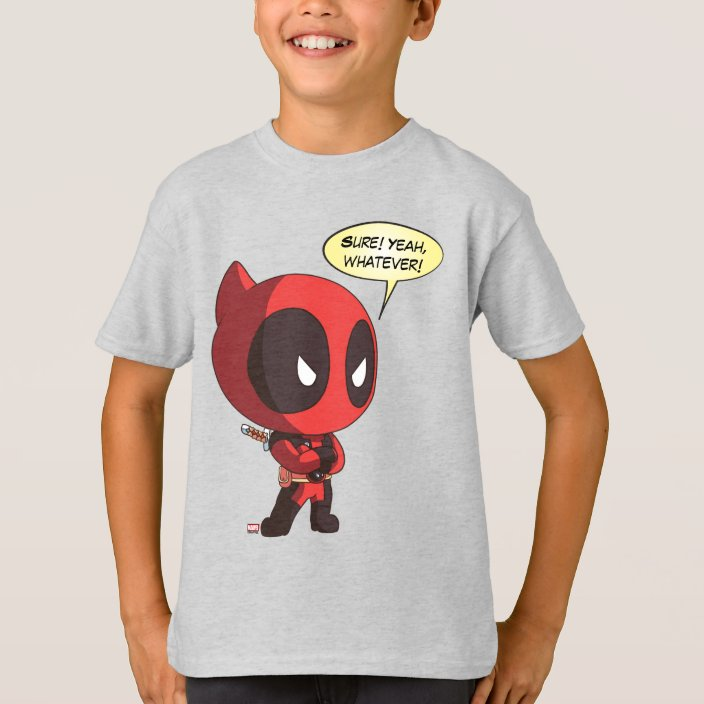 Deadpool Maximum Effort Marvel Comics Licensed Adult T-Shirt