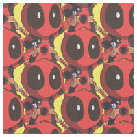 Mini Deadpool Fabric