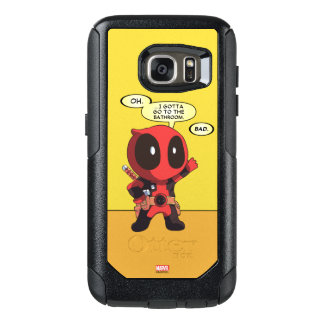 Mini Deadpool Funda Otterbox Para Samsung Galaxy S7