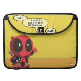 Mini Deadpool Funda Para Macbooks