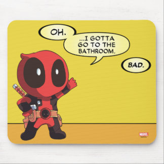 Mini Deadpool Mouse Pad