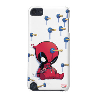 Mini Deadpool Suction Cup Darts iPod Touch 5G Cover
