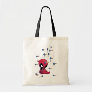 Mini Deadpool Suction Cup Darts Tote Bag