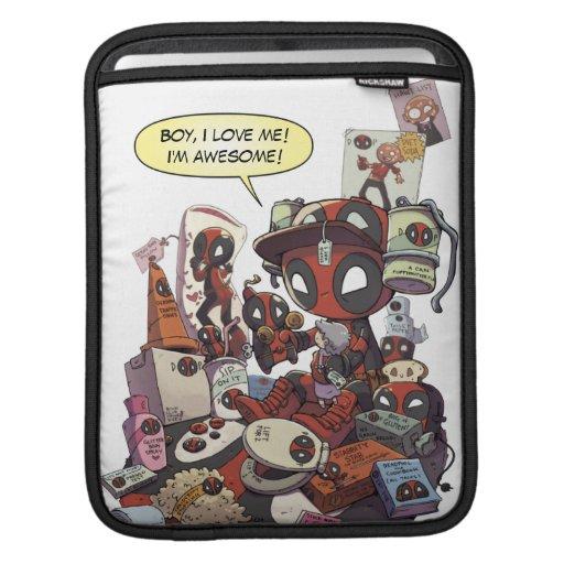 Mini Deadpool Swag iPad Sleeve