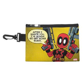 Mini Deadpool With Guns Accessory Bag