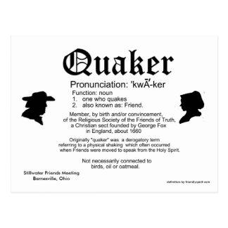Mini definición del calendario 2013 de un Quaker Tarjetas Postales