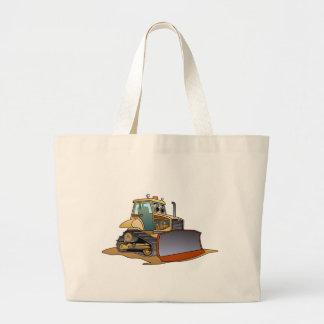 Mini dibujo animado de la niveladora bolsa tela grande