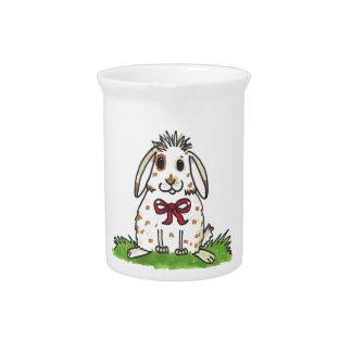 """Mini"""" diseño rechoncho del conejito """" jarra de beber"""