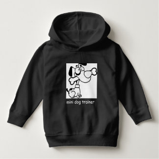 mini dog trainer hoodie