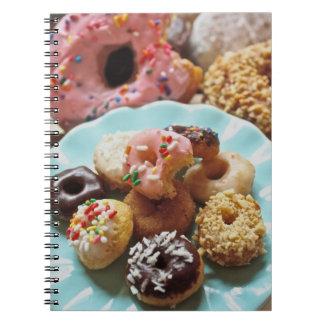 mini donut notebook