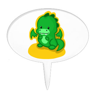 Mini Dragon Cake Toppers