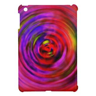 mini espiral de las rosas fuertes del caso del iPa