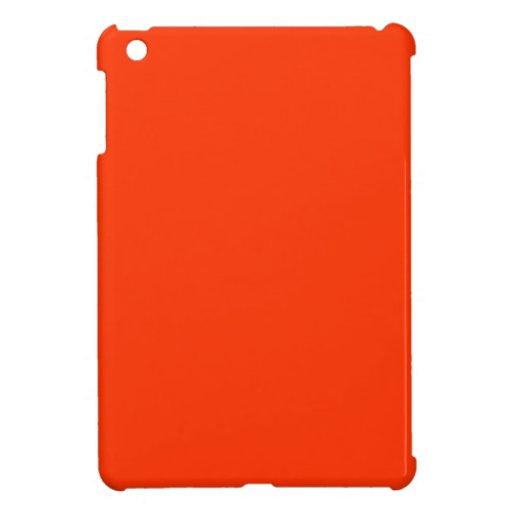 Mini estuche rígido del iPad anaranjado iPad Mini Carcasa