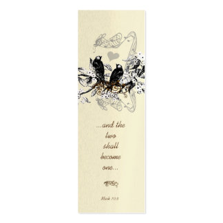 Mini etiquetas de la señal o del boda del vintage tarjeta personal