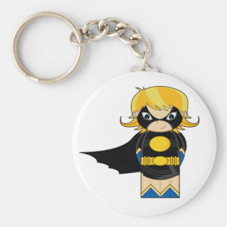 Mini Evil Girl Hero Key Chain
