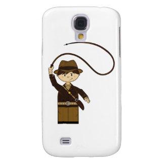 Mini explorador con Bullwhip Funda Para Galaxy S4