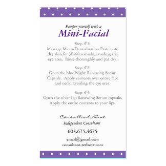 Rodan and fields business cards templates zazzle for Rodan and fields business card template