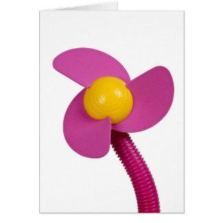 Mini fan card