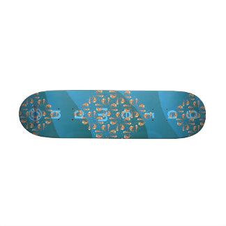 mini fishee board skate board deck