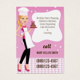 Mini Flyer Biz Card Party Planner Event Organizer