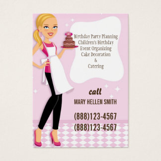 Mini Flyer Card for Party Planner Event Organizer