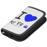 i [Love heart]  my vw [Campervan]  i [Love heart]  my vw [Campervan]  Mini Folio Folio Planner