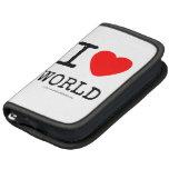 I Love Heart World Mini Folio Folio Planner