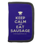 [Chef hat] keep calm and eat sausage  Mini Folio Planners