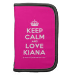 [Crown] keep calm and love kiana  Mini Folio Planners