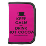 [Cup] keep calm and drink hot cocoa  Mini Folio Planners