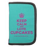 [Cupcake] keep calm and love cupcakes  Mini Folio Planners