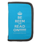 [Crown] be reem and read on!!!!!!  Mini Folio Planners