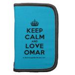 [Crown] keep calm and love omar  Mini Folio Planners
