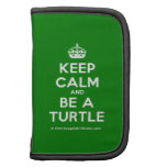 [Crown] keep calm and be a turtle  Mini Folio Planners